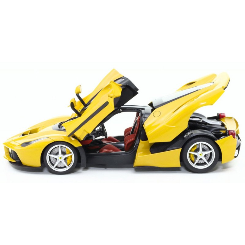 1/24 LaFerrari Yellow Version Plastik Araba Maket Kiti